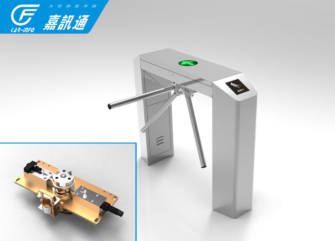 Rfid Card Reader Office Security Gates , Museum Access Control Turnstile Gate